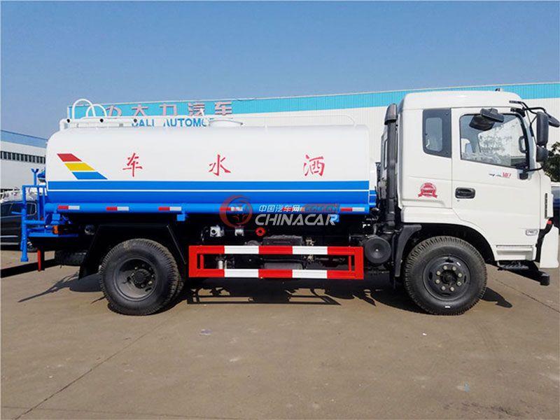 国五12吨东风御虎T3洒水车实拍图片