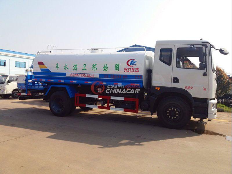 国五东风创普15吨洒水车实拍图片