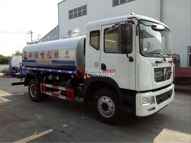 国五15吨东风多利卡D9洒水车实拍图片