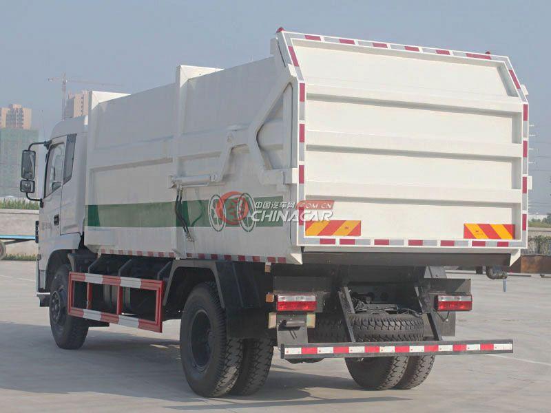 东风专底10方对接式垃圾车实拍图片