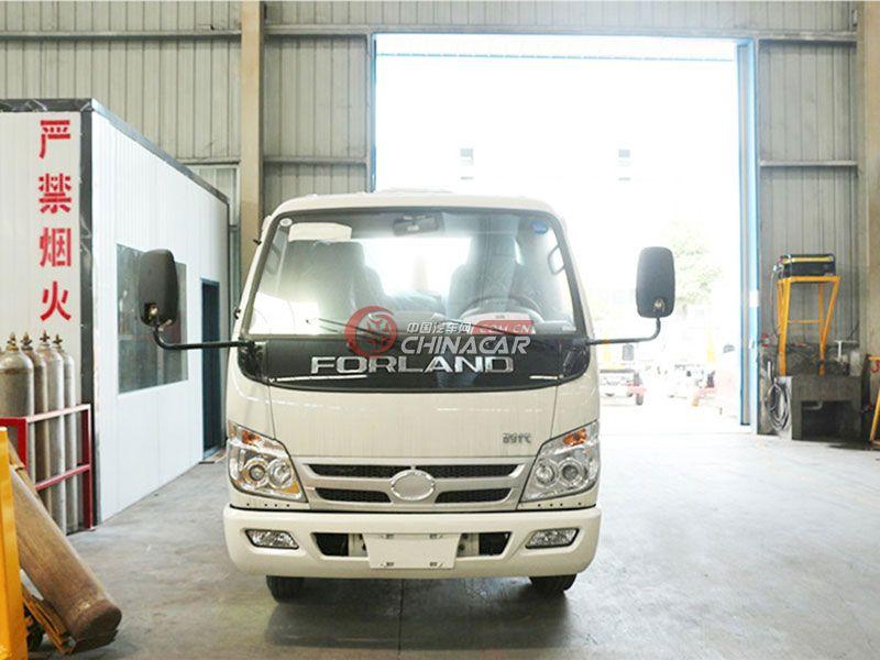 福田小卡之星5方勾臂式垃圾车实拍图片