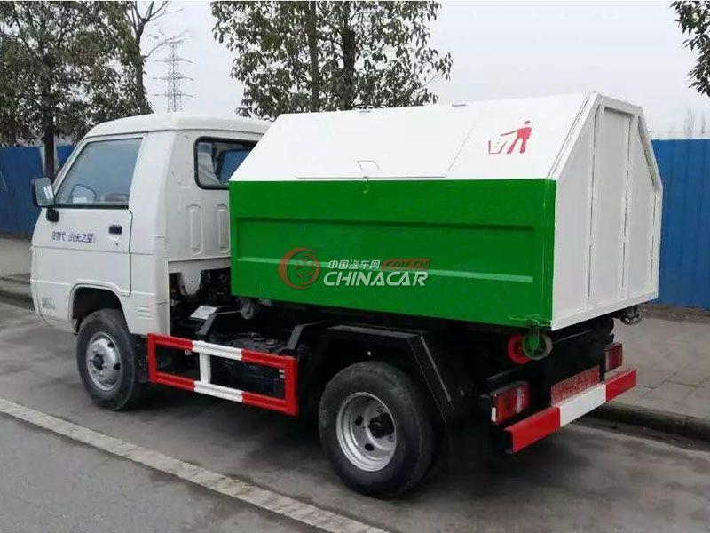 福田小卡之星2方勾臂式垃圾車實拍圖片