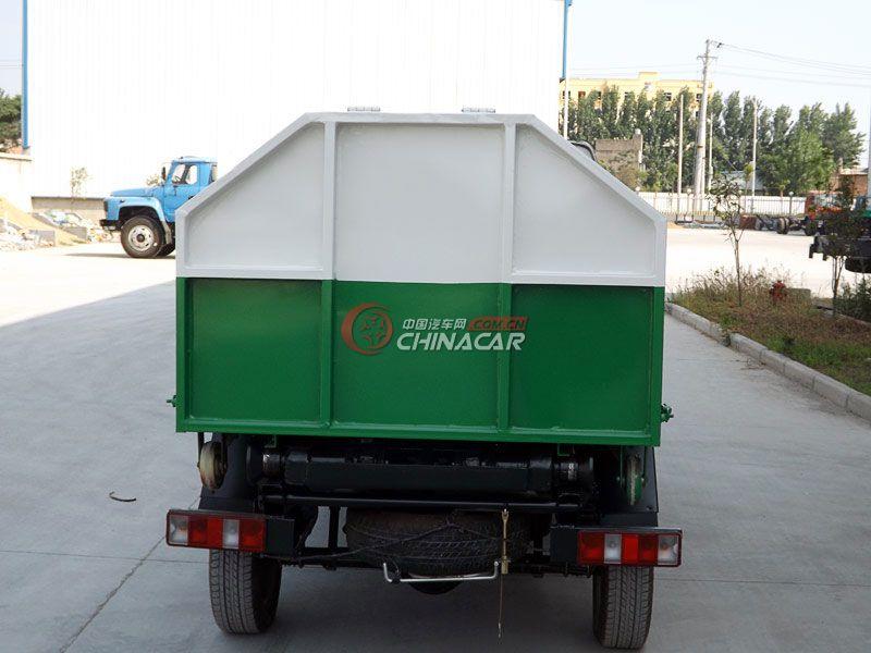长安2方勾臂式垃圾车实拍图片