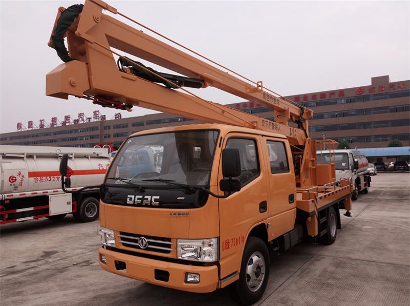 国5东风16米高空作业车
