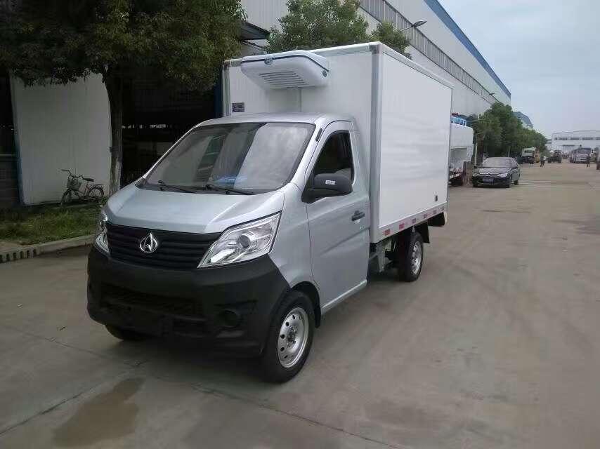 长安国五冷藏车,程力冷藏车厂家直销是首选!