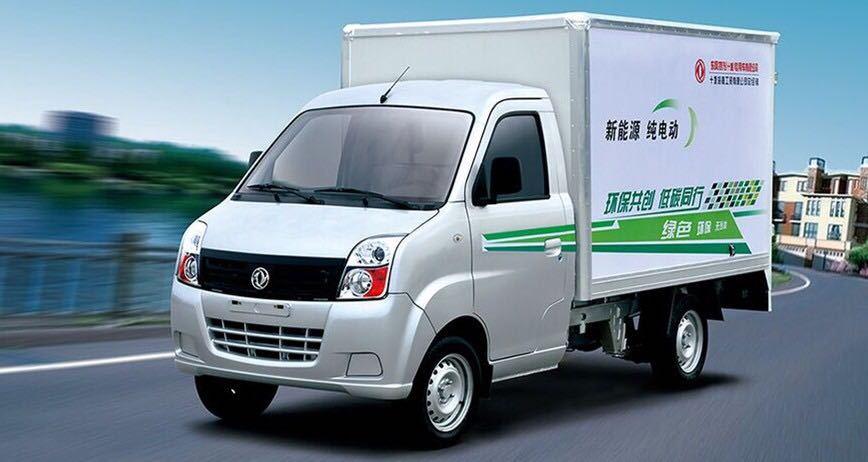 东风EQ1020TBEV纯电动厢式运输车