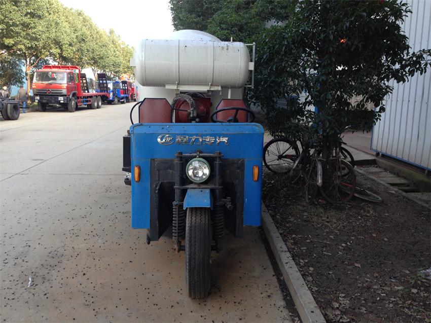 三轮农村隧道小型搅拌车