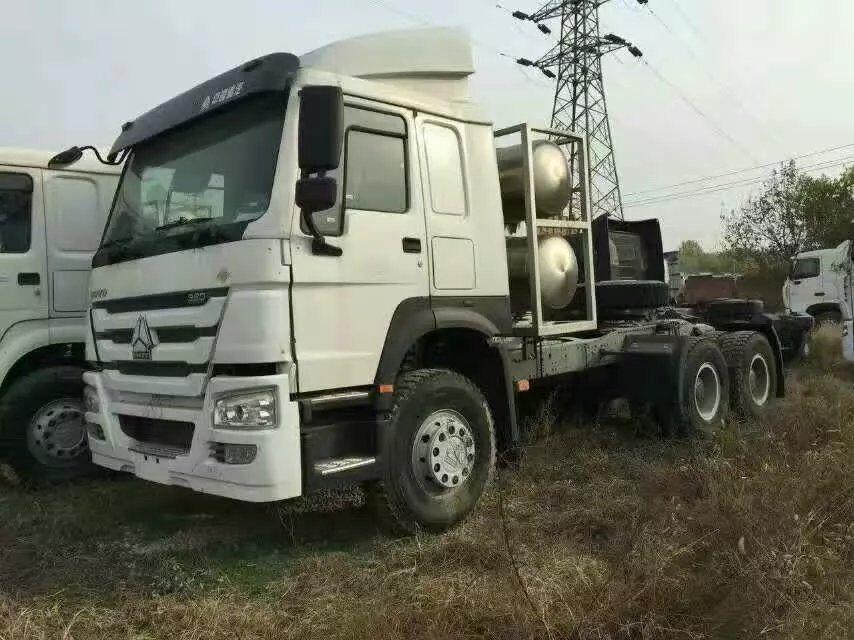 豪沃LNG国五牵引车