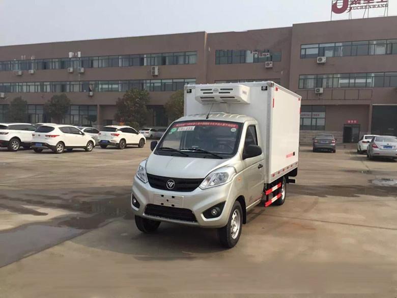 小型冷藏车价格-福田小型冷藏车图片