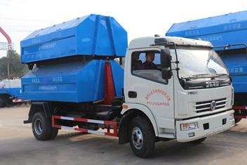 好品牌,好质量,湖北程力为您讲解勾臂式垃圾车在使用中的主要事项