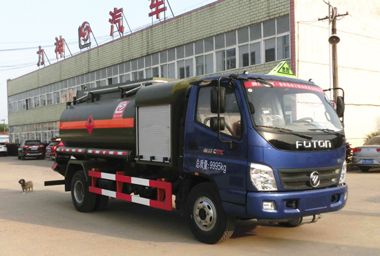 国五奥铃5吨SLS5100GJYB5流动加油车 