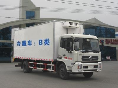 国五天锦冷藏车