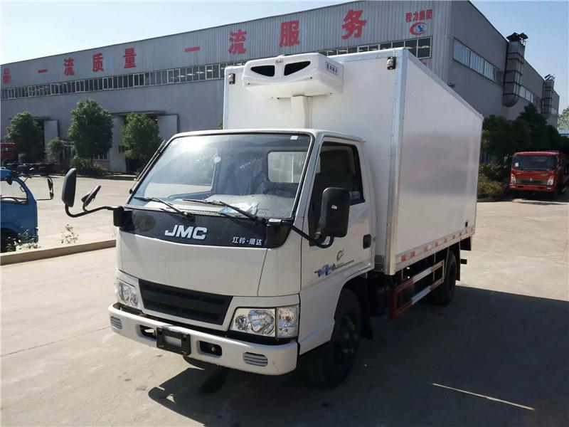 国五冷藏车各种品牌——-配置介绍