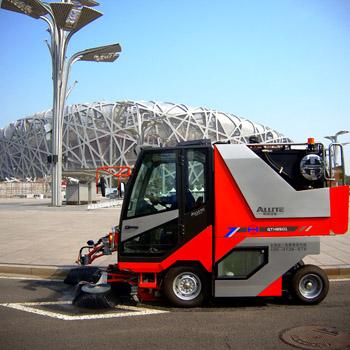 同辉汽车-多功能小型清扫机QTH8501-助力延安新城环境建设