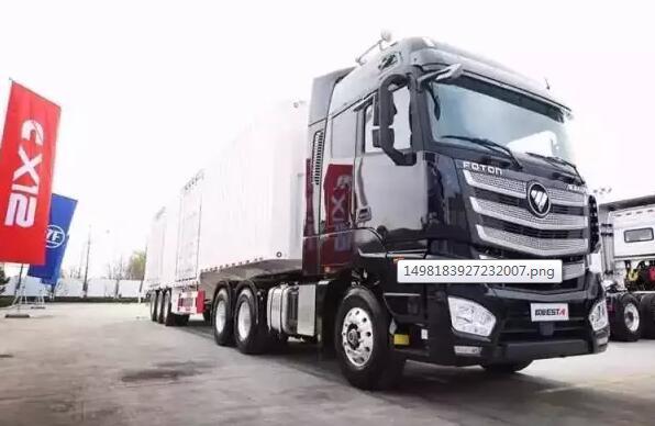 搭载X12动力,首款欧曼EST 8x4载货超级卡车