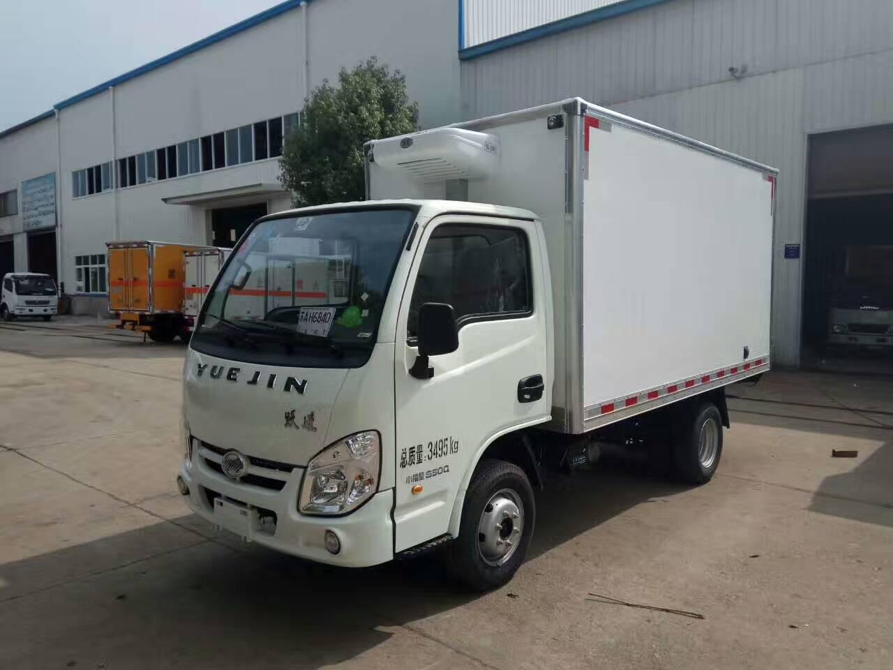 跃进国五3米2柴油冷藏车-小型国五柴油冷藏车价格-跃进3米2柴油冷藏车价格