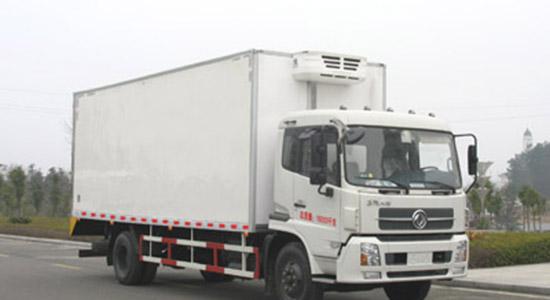 东风天锦6米1冷藏车配置及报价