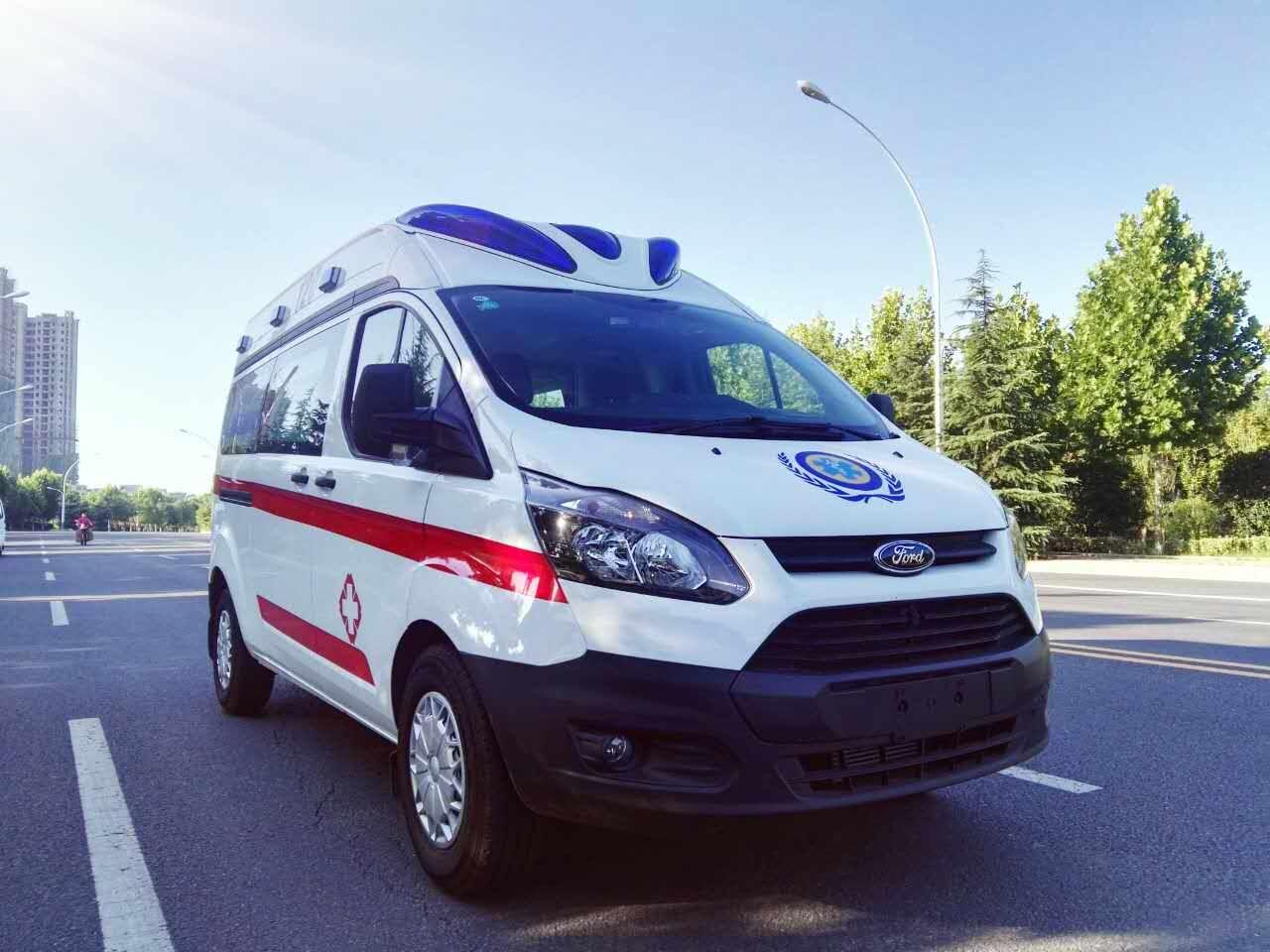 名门血统,欧洲品质,福特新全顺V362监护型救护车