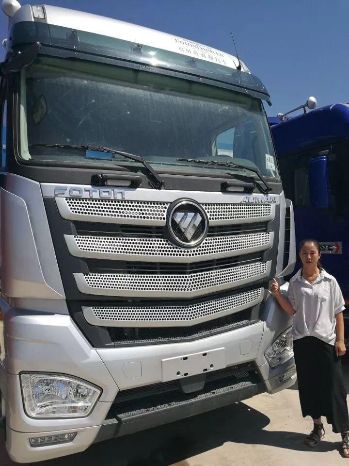 美女也爱欧曼EST超级卡车,只因它更靠得住