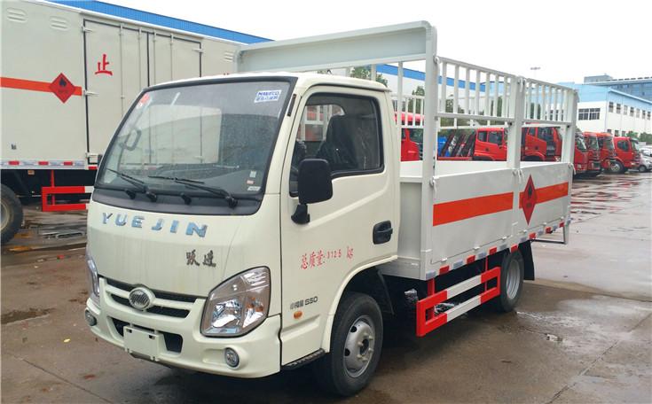 跃进小福星气瓶运输车助力危险货物高效安全运营