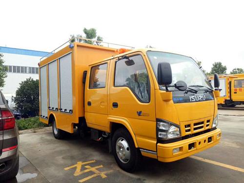 五十铃双排救险车,多功能抢险泵车、工程抢险车