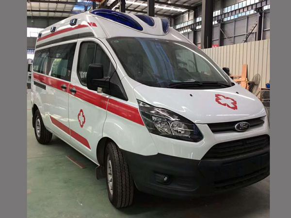 V362新全顺救护车-江铃福特新全顺救护车生产厂家