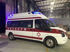 监护型救护车厂家直销,V348长轴监护型救护车出售及出租