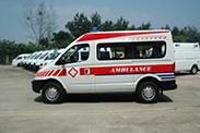 大通V80救护车不止省油,还更省钱!