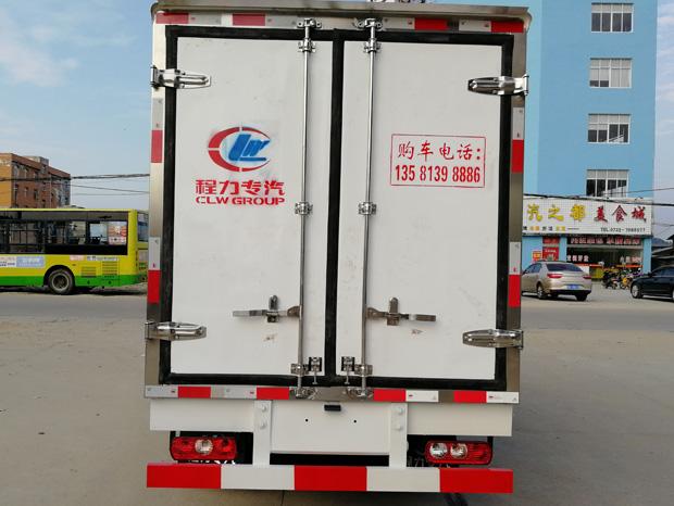 五十铃冷藏车-五十铃4.2米蓝牌冷藏车配置与报价