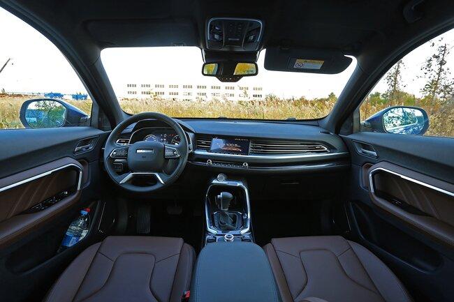 AI智能网联SUV——哈弗F7到店实拍