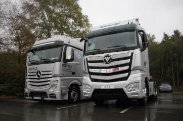 同步欧美 欧曼EST超级卡车升级用户价值 迈进超卡新时代