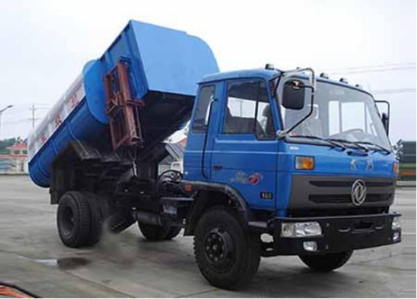 自装卸式垃圾车特点