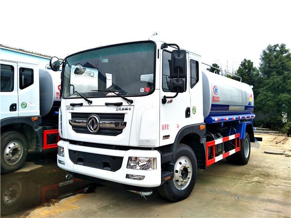 程力洒水车厂家出售 东风D9多功能12吨绿化喷洒车