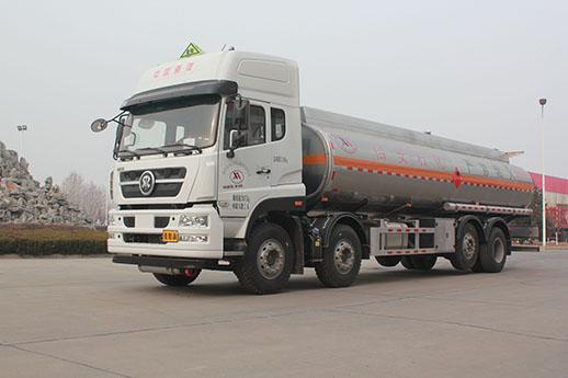 重汽 济专 批量 铝合金 油罐车 成功 交付 用户