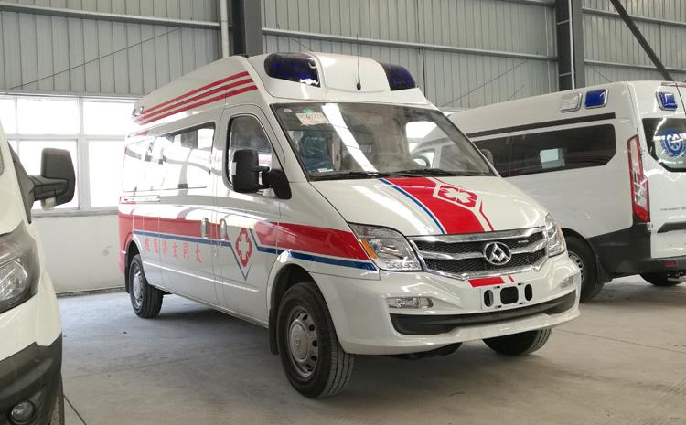 上汽大通长轴高顶监护型救护车配置-上汽大通长轴高顶监护型救护车生产厂家