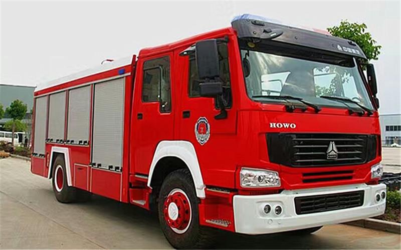 重汽豪沃消防车大概价格多少钱