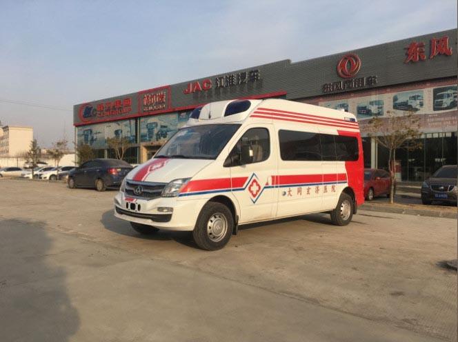 2018年第一单,上汽大通自动档监护型医疗救护车今天顺利签单!