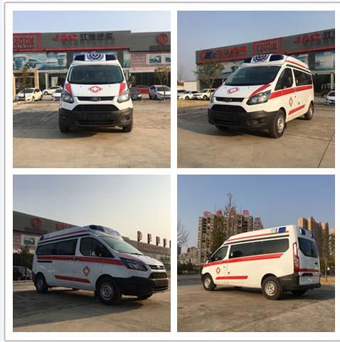 江铃福特泰格红顶监护型医疗救护车现车销售