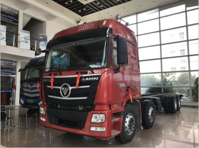 直降2.8万,欧曼GTL400马力8X4载货车