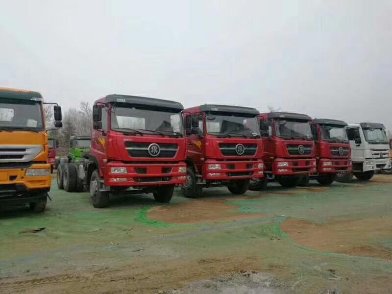 斯太尔D7B国四自卸车