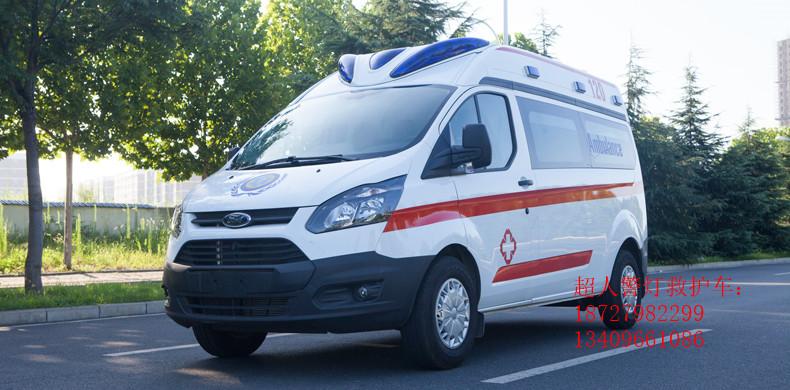 江铃救护车(福特V362新全顺,中轴中顶  汽油)