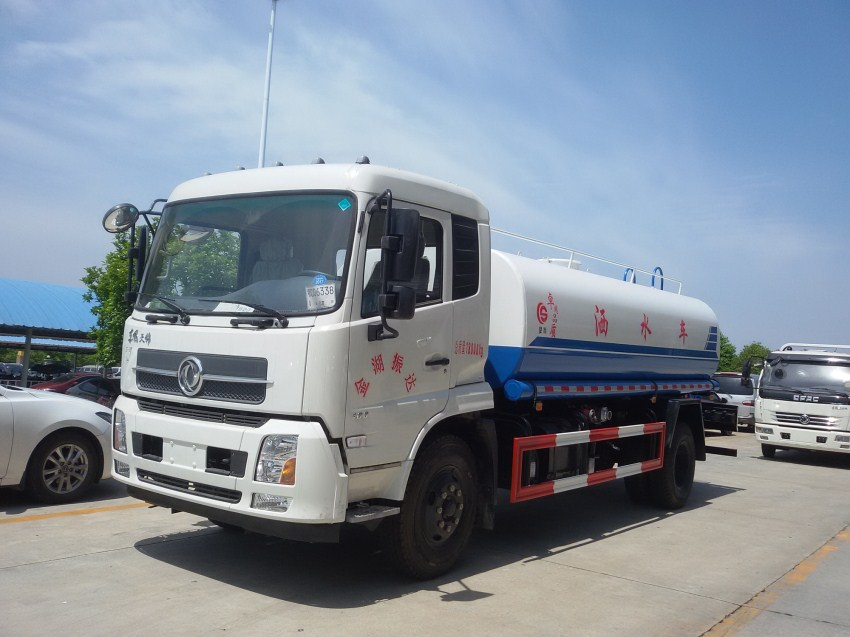 东风天锦15吨洒水车价格/15吨洒水车多少钱一辆