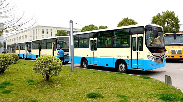批量天然气公交车发往新疆喀什