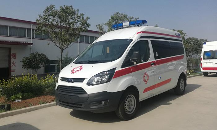 医院救护车首选——福特V362新全顺救护车