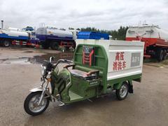 纯电动扫路车,电动三轮高压清洗车,及电动垃圾车的价格