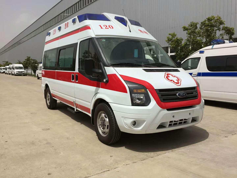 福特新全顺监护型救护车购买流程详细说明