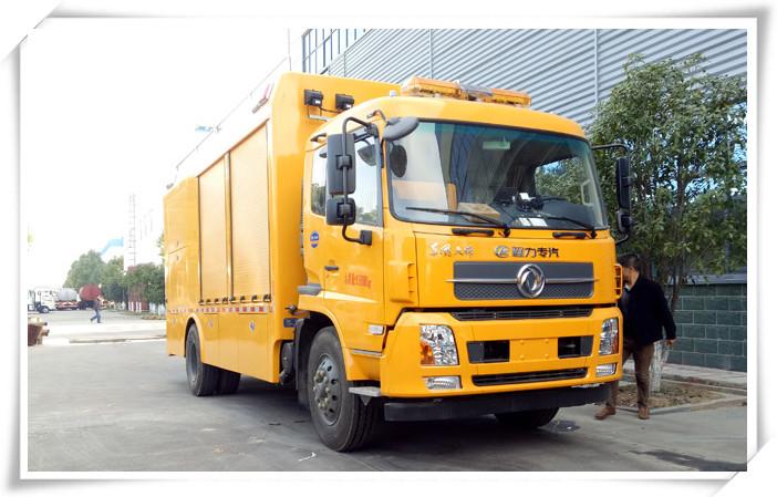 8吨救援设备运输车-东风天锦救援设备运输车配置-价格-程力专汽