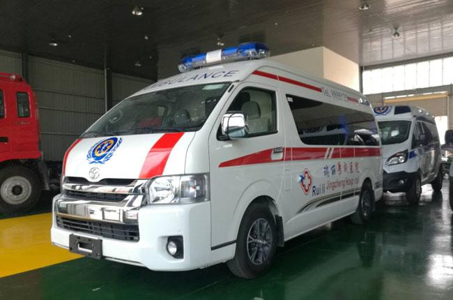 进口丰田大海狮高顶汽油监护型救护车-进口丰田大海狮高顶汽油监护型救护车价格