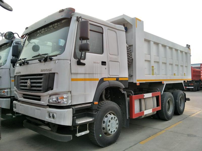 豪沃5.2米自卸车出口专用
