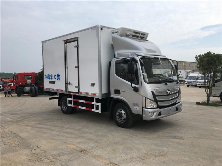 福田欧马可S3冷藏车厂家直销
